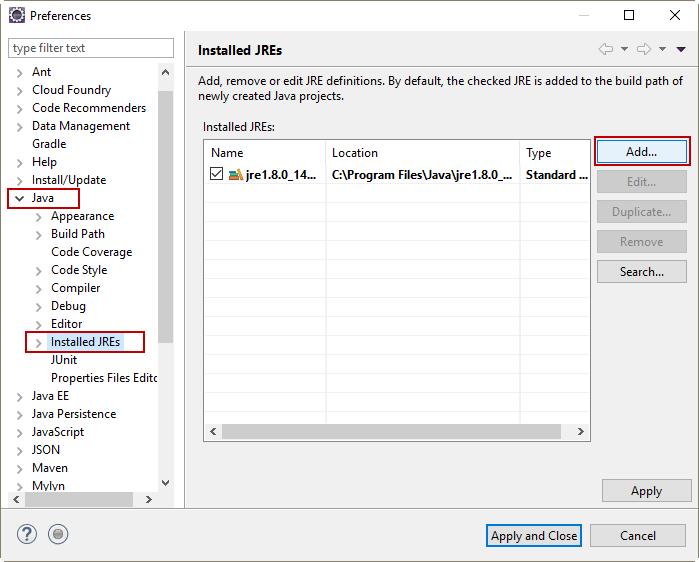 Cấu hình JDK cho Eclipse - VietTuts