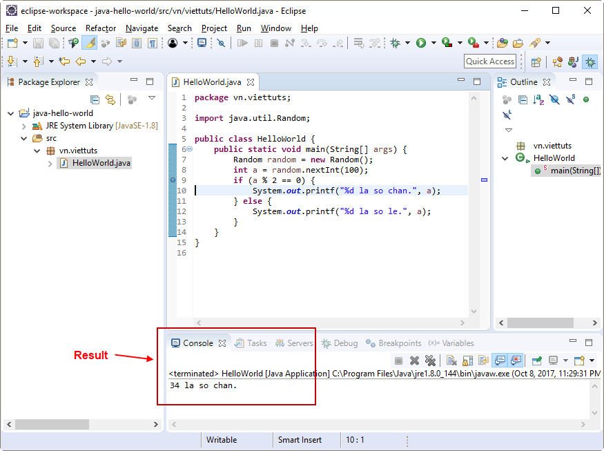 Debug java project trong Eclipse