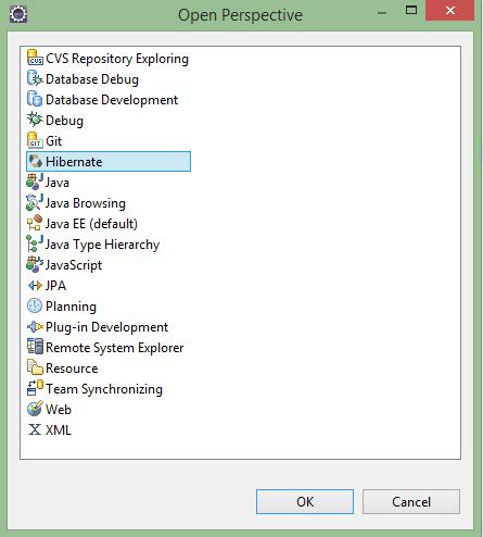 Cài đặt Hibernate/Jboss Tools trong Eclipse IDE