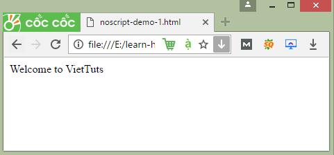 the noscript trong html vi du 1