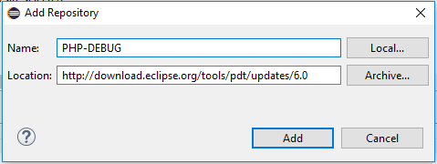 Debug PHP project trong Eclipse
