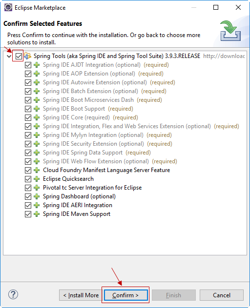 Cài đặt Spring Tool Suite (STS) trong Eclipse