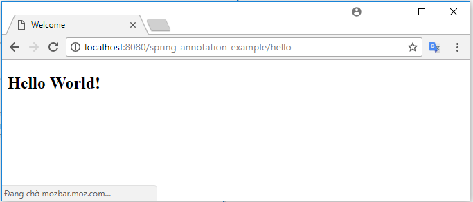 Tạo Spring project (annotation) bằng Spring Tool Suite (STS)